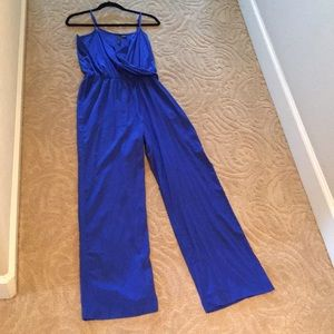 Beautiful blue romper. Great condition